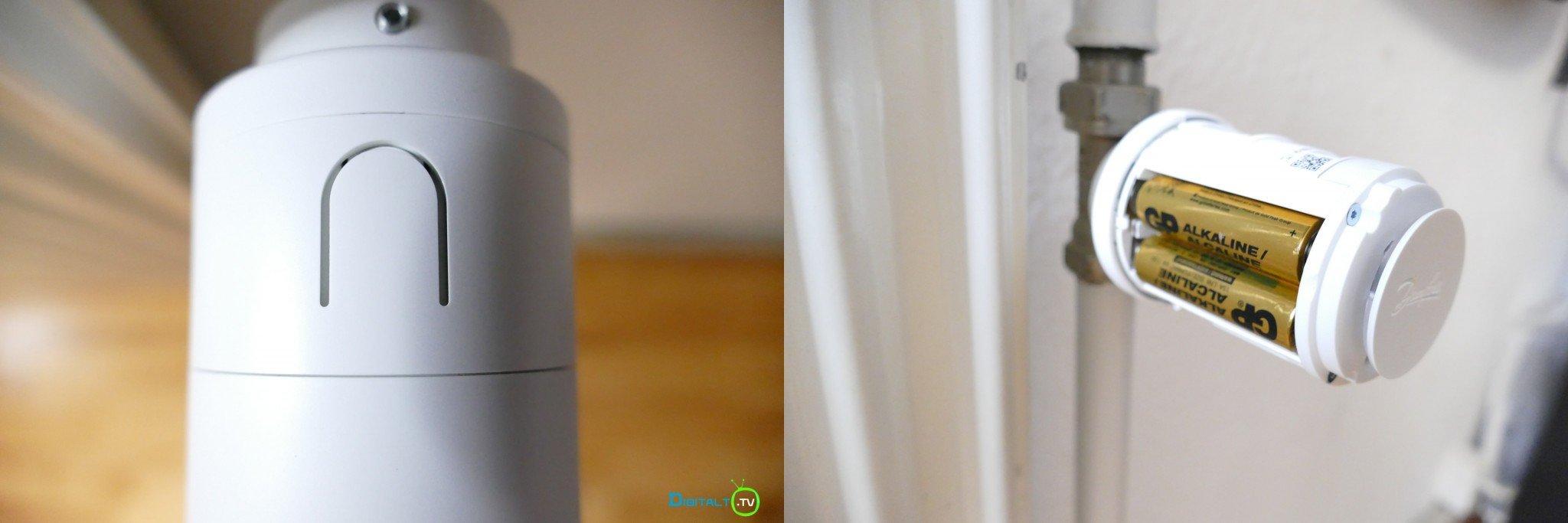 Danfoss Eco montering batteri