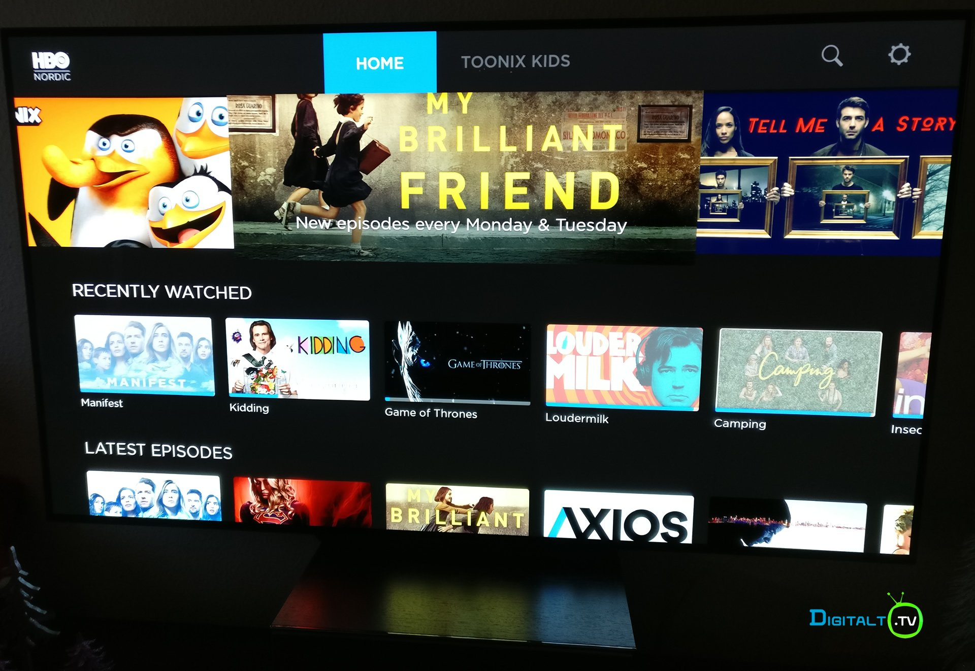HBO Nordic Android TV Nvidia Shield TV