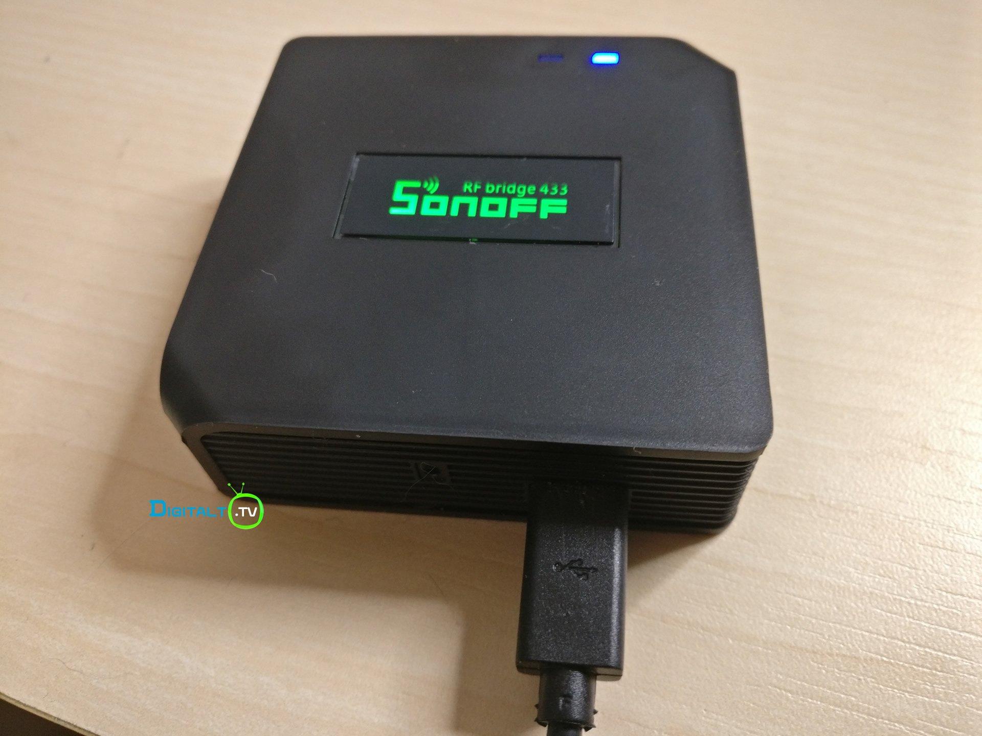 Sonoff RF Bridge 433 MHz enhed