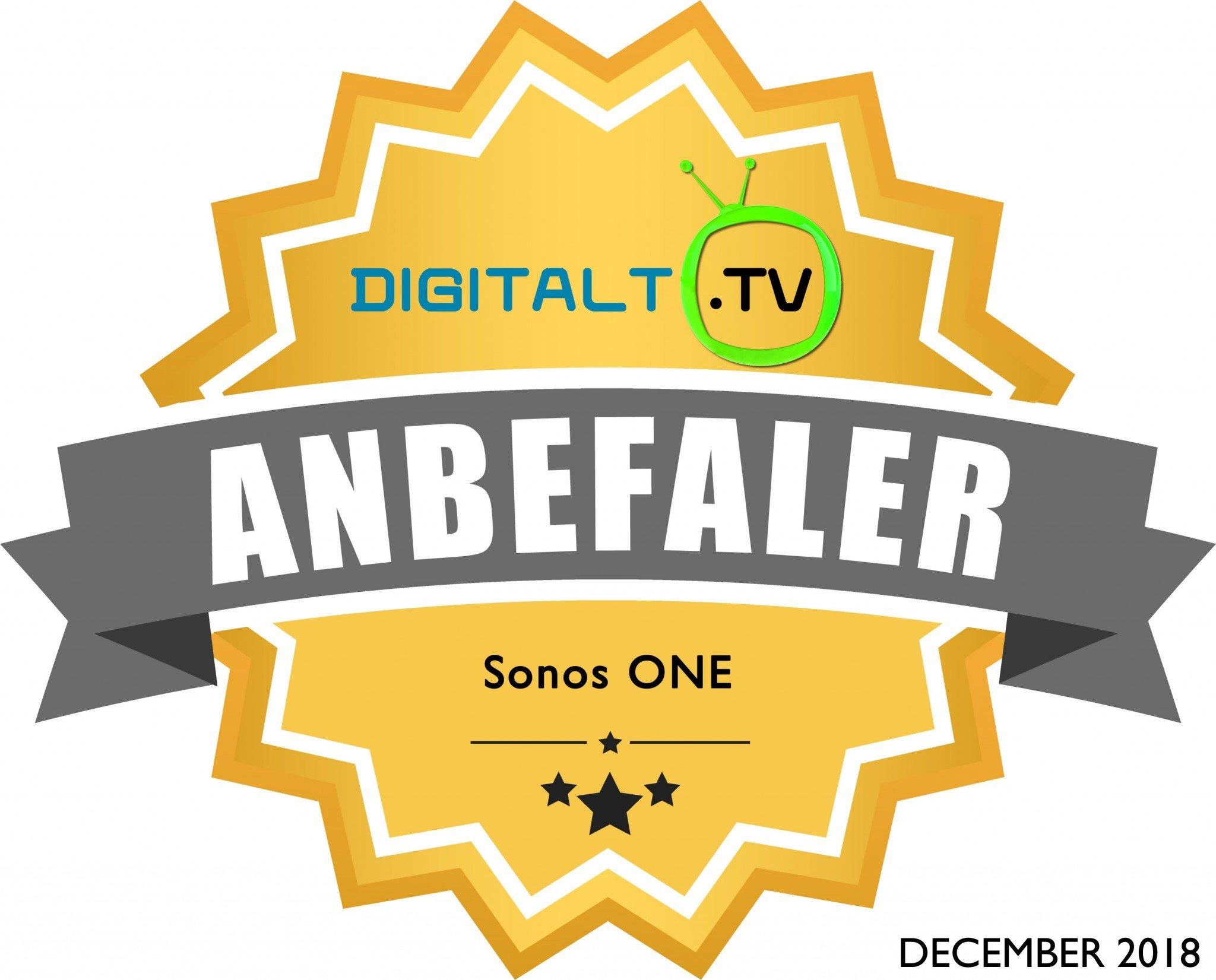 Sonos One Logo anbefaling