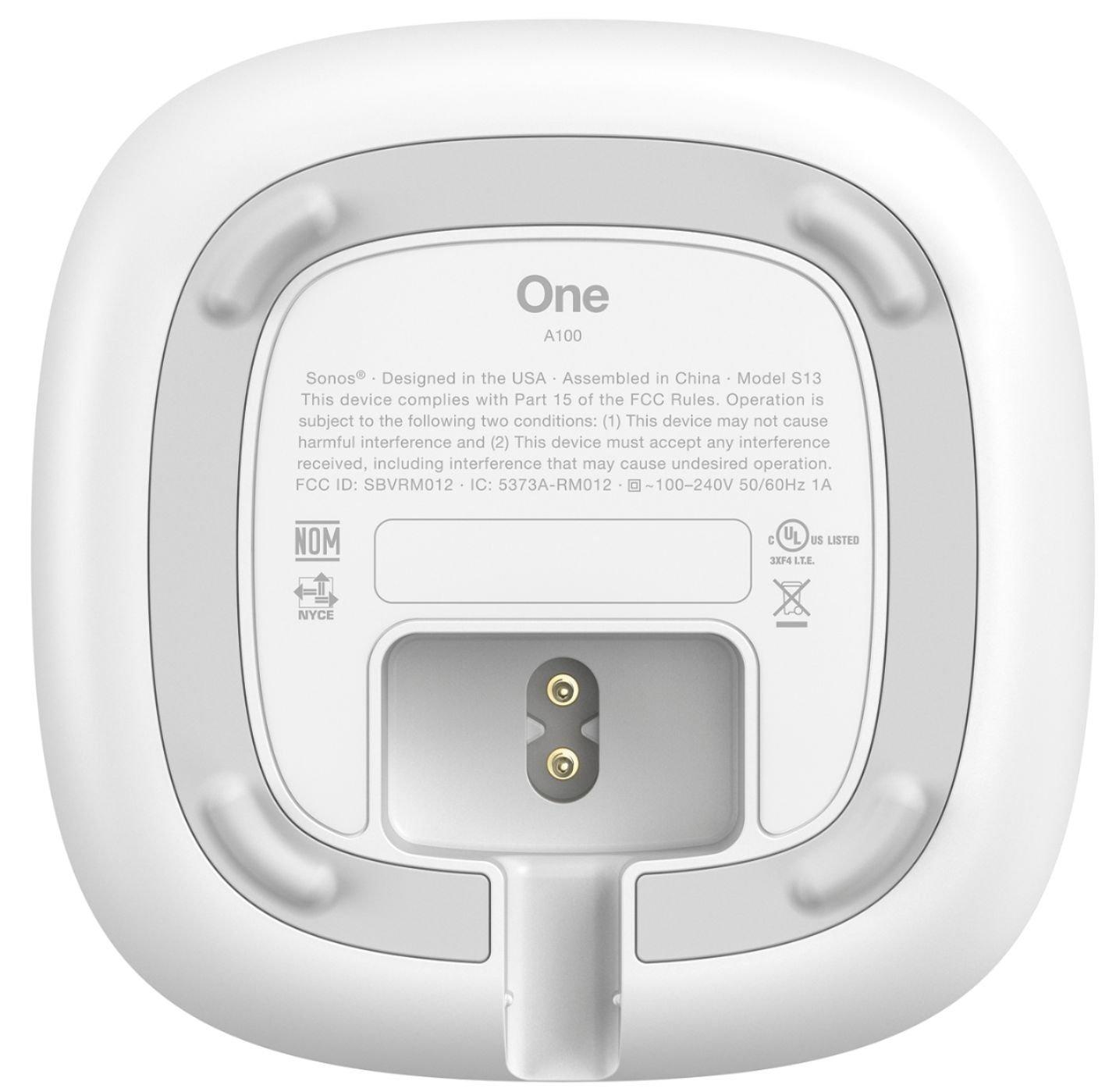 Sonos One design bund