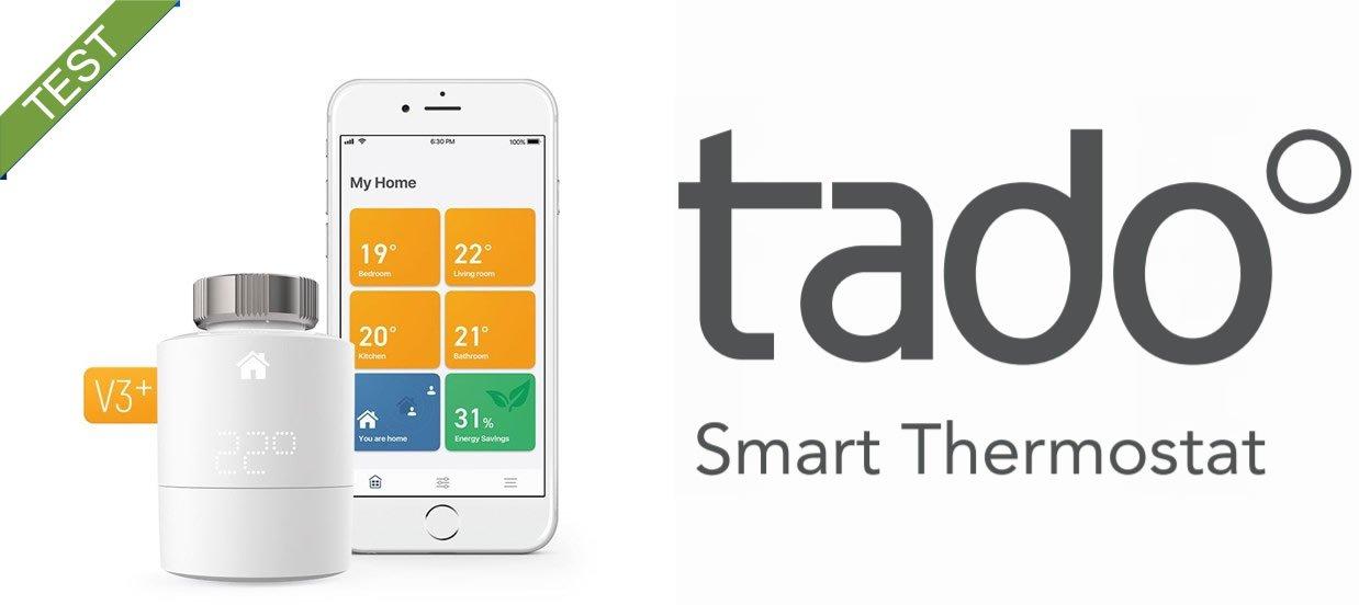 Tado Smart termostat V3+ Test anmeldelse