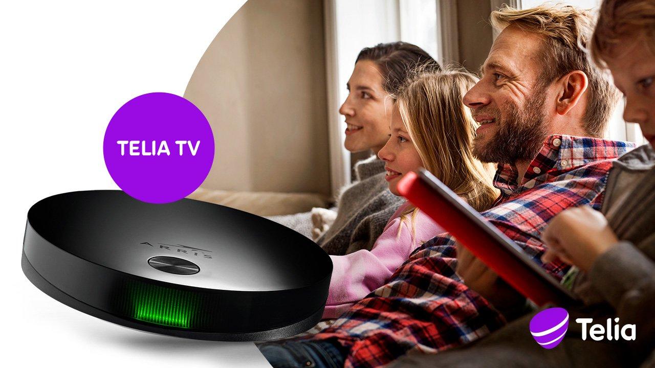 Telia TV ny tv-boks