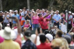 Foto af Tiger Woods og den nye streamingtjeneste GOLFTV i eksklusivt samarbejde