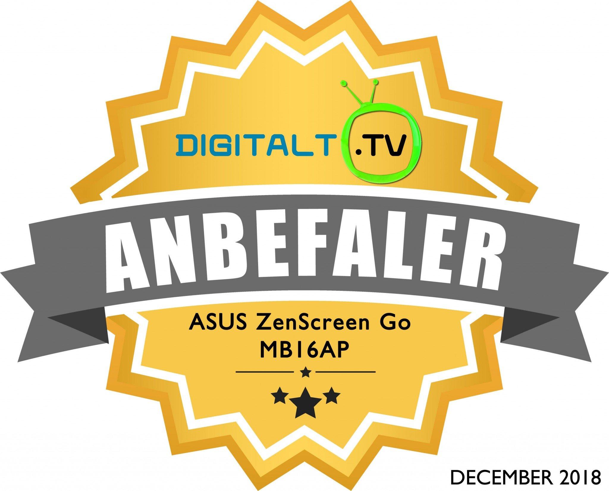 ASUS ZenScreen Go MB16AP Logo anbefaling