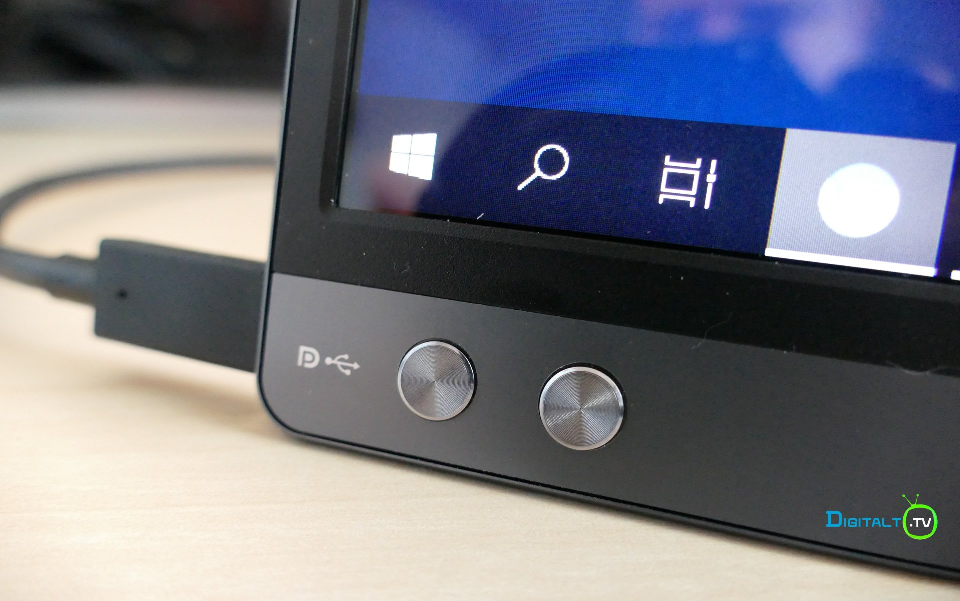 ASUS ZenScreen Go MB16AP menuknapper