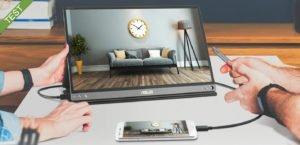 Photo of Test: ASUS ZenScreen Go MB16AP – transportabel skærm med indbygget batteri