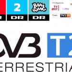 DVB-T2 skifte 2020 DR TV2 regional