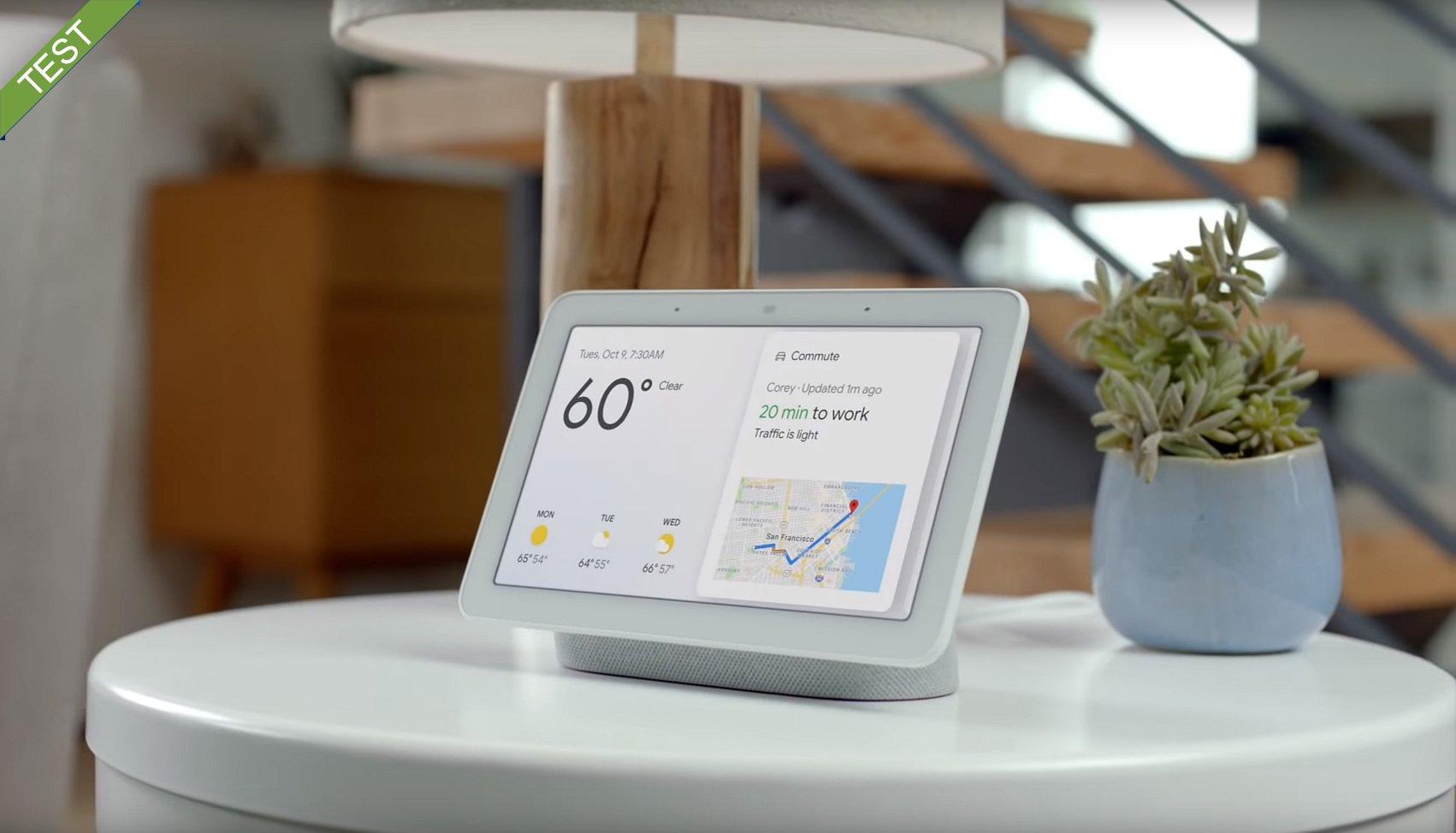 Google Home Hub dansk test anmeldelse