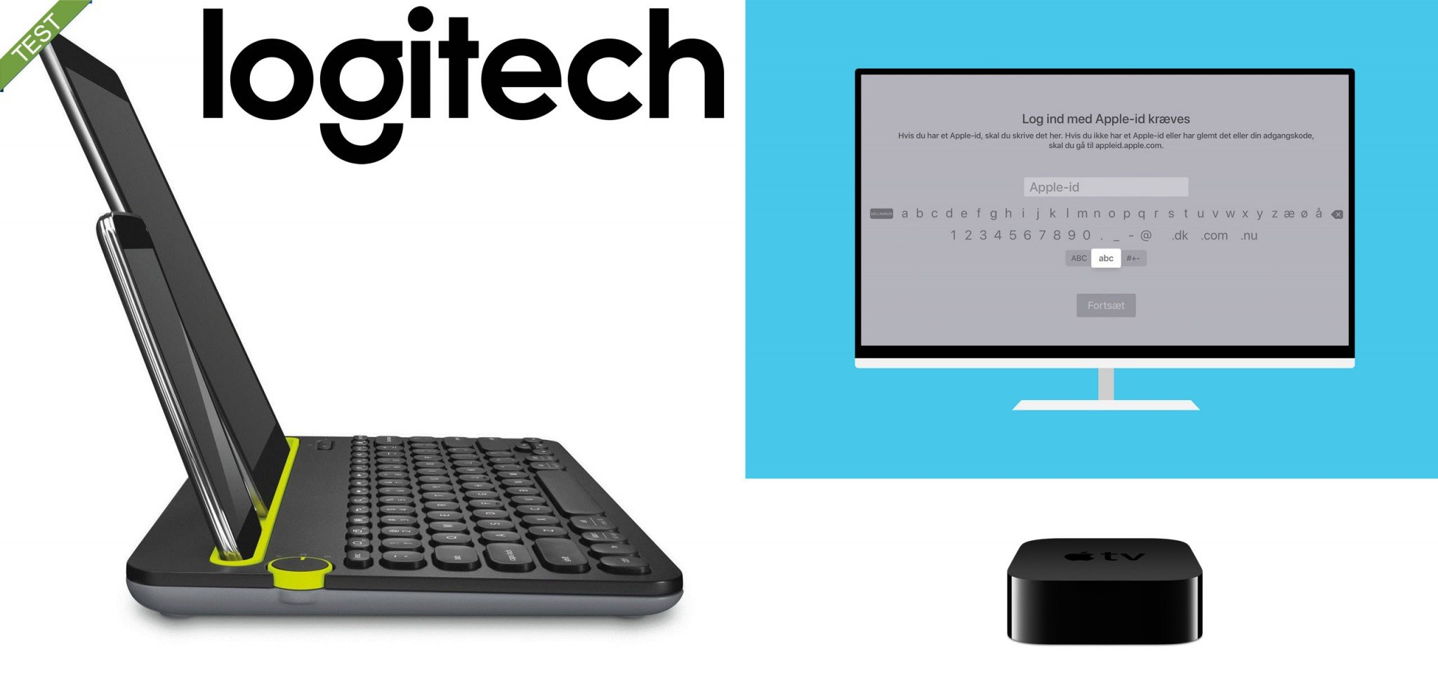 Logitech K480 keyboard test