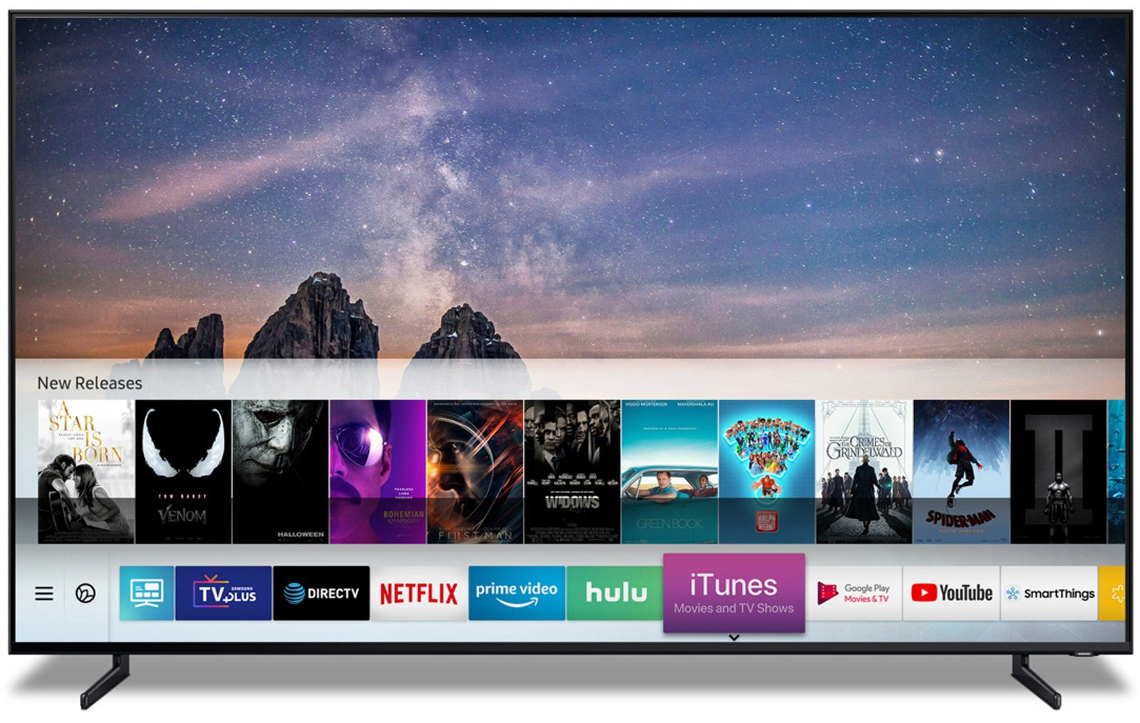 iTunes Airplay 2 Samsung TV 2019