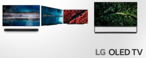 Foto af LG 2019 TV modelnavne og vejledende priser – se tabellen her