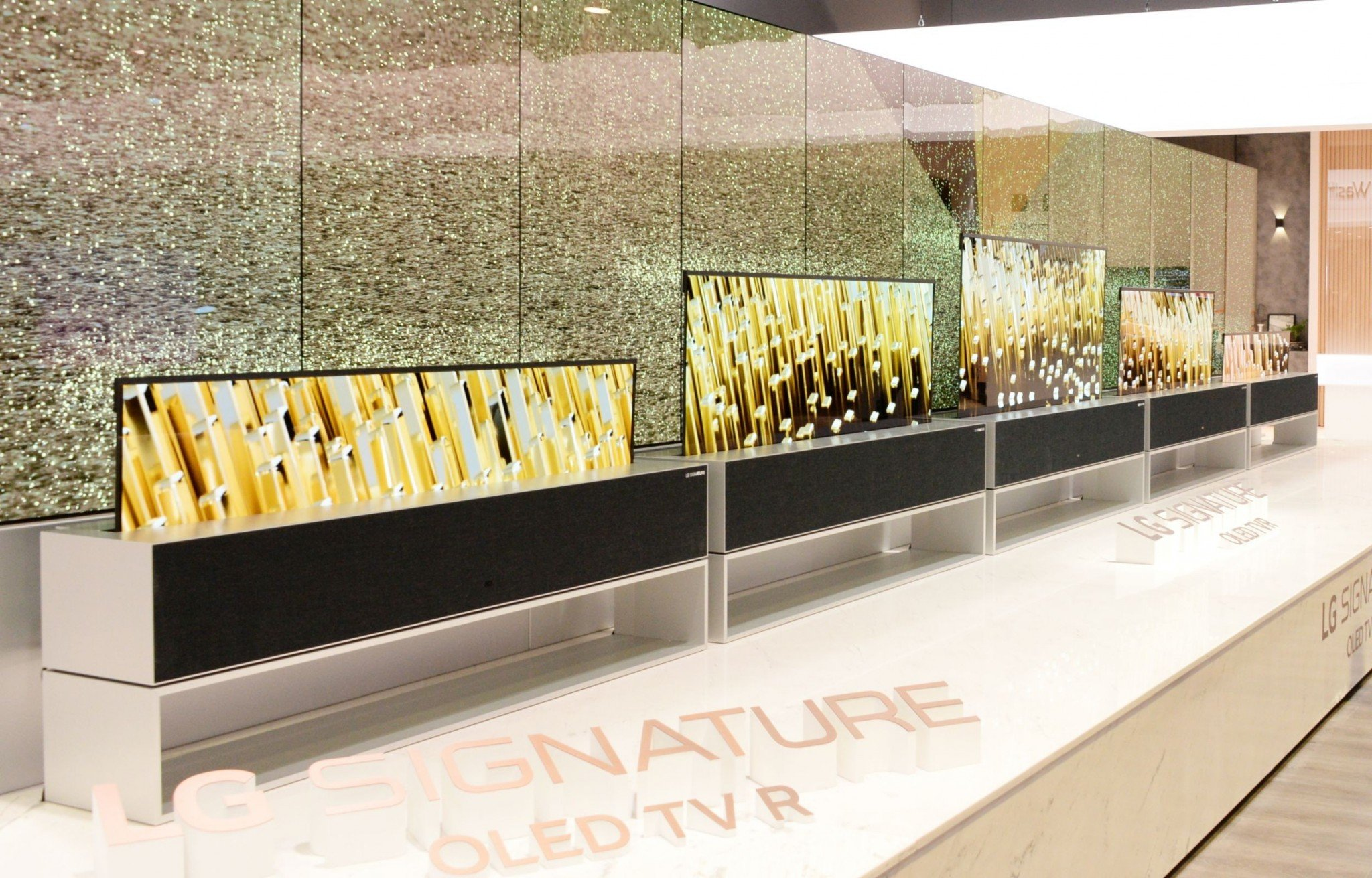LG OLED TV R Booth 03
