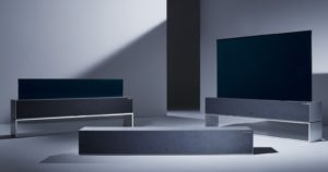 Photo of LG præsenterer OLED TV der kan rulles sammen helt eller delvist