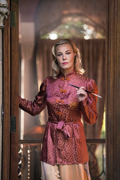 Connie Nielsen i am the night tnt
