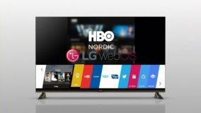 Foto af HBO Nordic klar til LG Smart TV med webOS