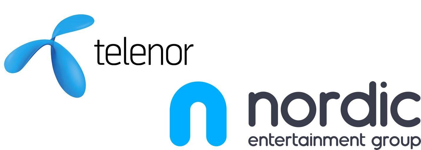 Telenor NENT logo