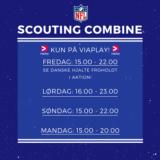 Foto af NFL Scouting Combine på Viaplay: Se danske Hjalte Froholdt i aktion
