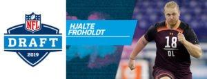 Foto af NFL Draft 2019 på TV og Streaming – Se hvor danske Hjalte Froholdt skal hen?
