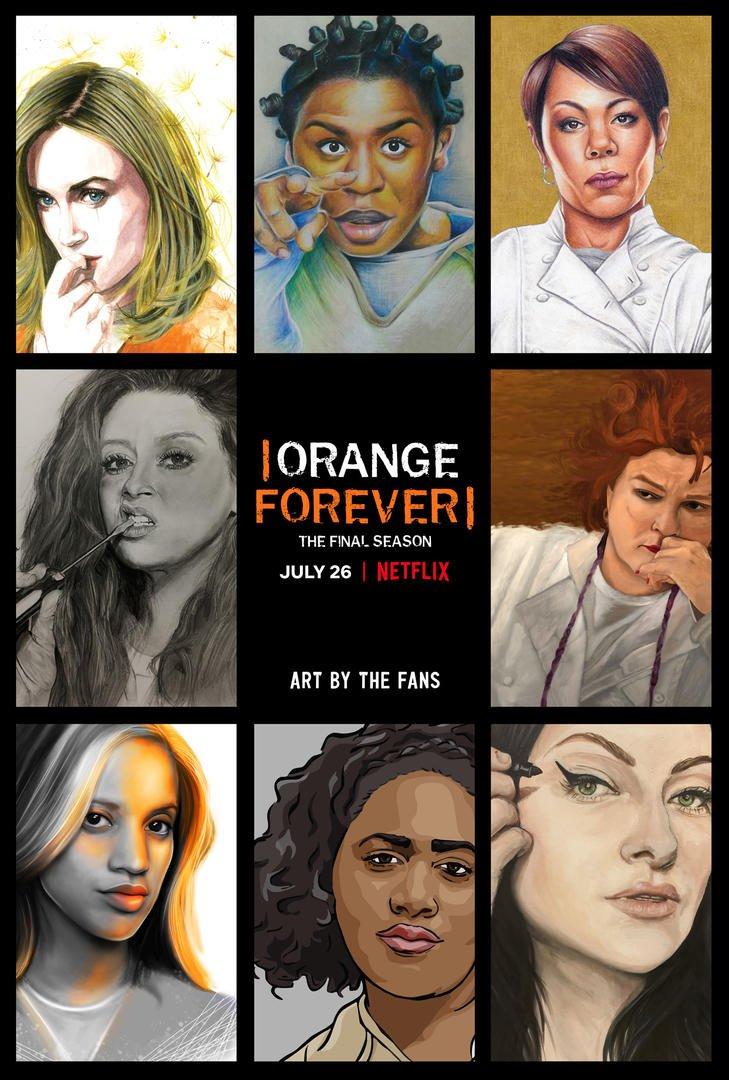 Orange is the new black sæson 7 poster
