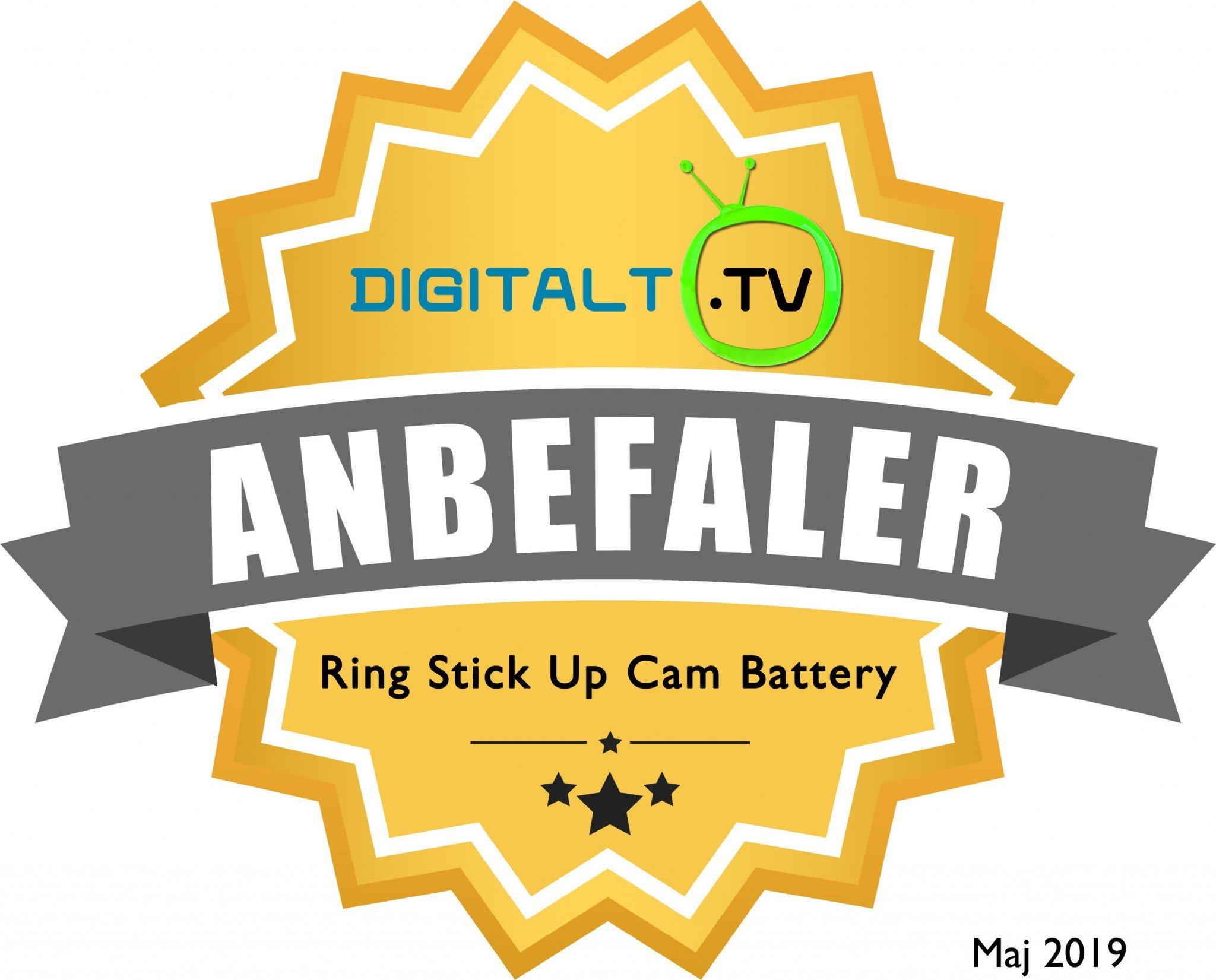 Ring Stick Up Cam Battery Logo anbefaling