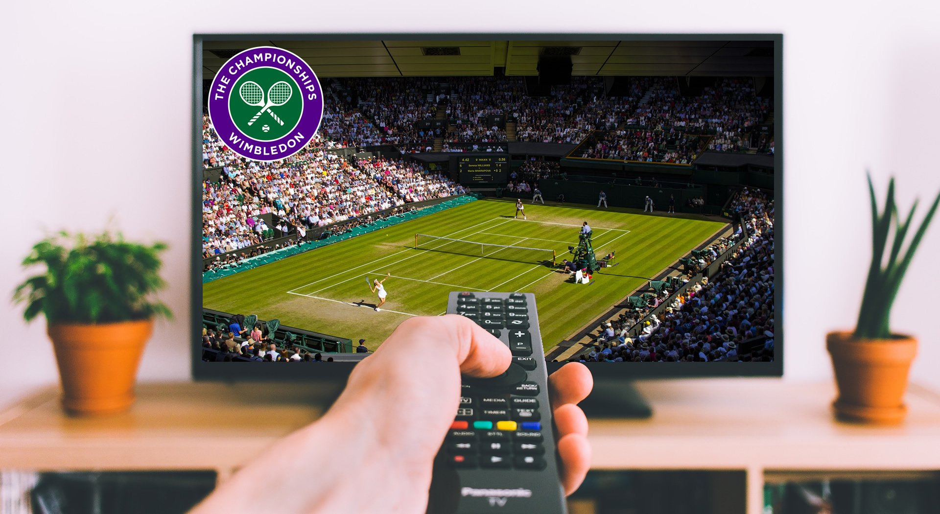 Wimbledon 2019 på tv og streaming