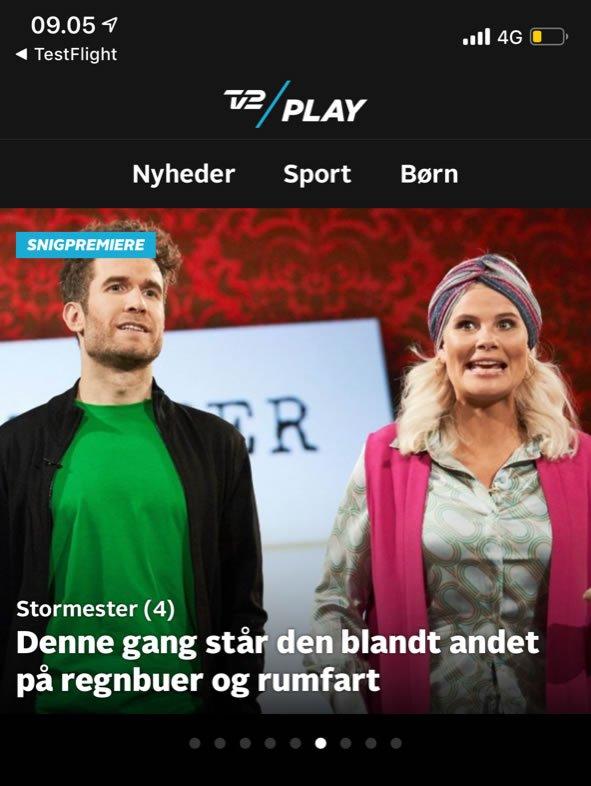 TV 2 Play beta