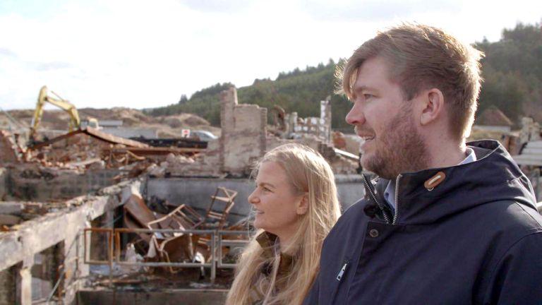 Svinkløv Badehotel - genopbygningen DR1