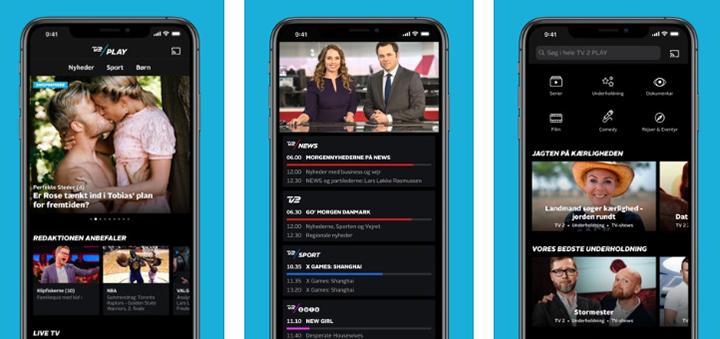 TV 2 Play ny app