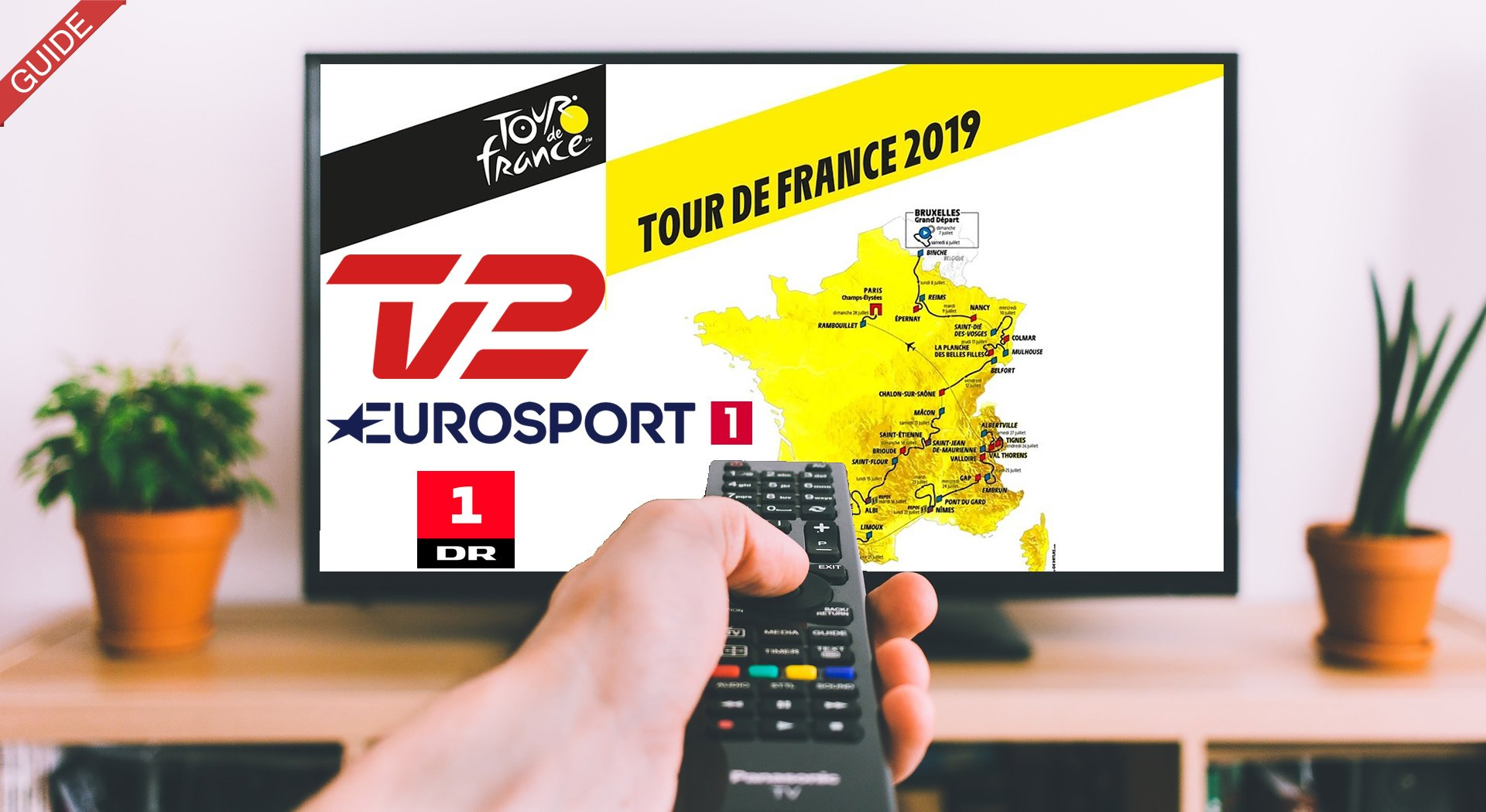 Tour de France 2019 på TV og Streaming
