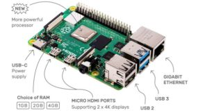 Foto af Ny Raspberry Pi 4 Model B kan håndtere 4K HEVC video
