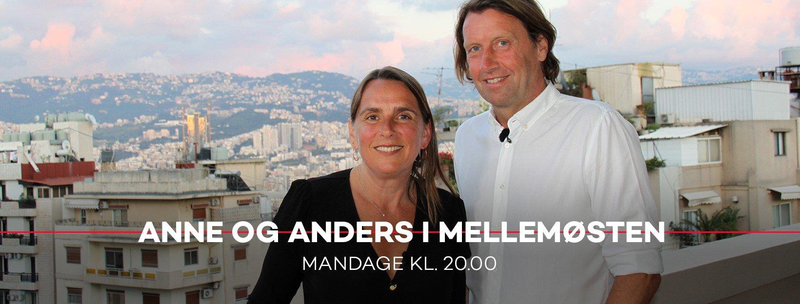 Anne og Anders i Mellemøsten DR1 2019