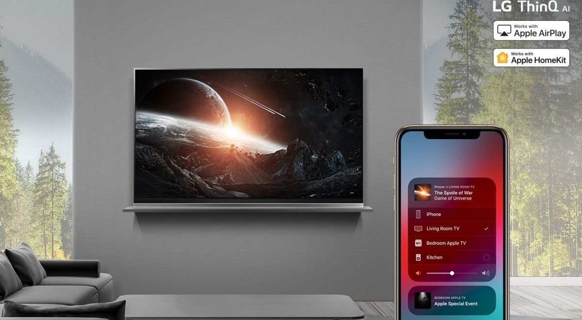 Apple Airplay LG TV 2019