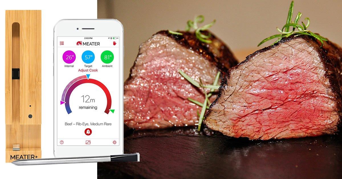 Meater+ test anmeldelse stegetermometer