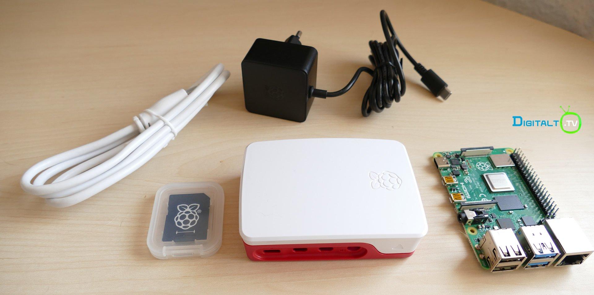 Raspberry Pi 4 startkit