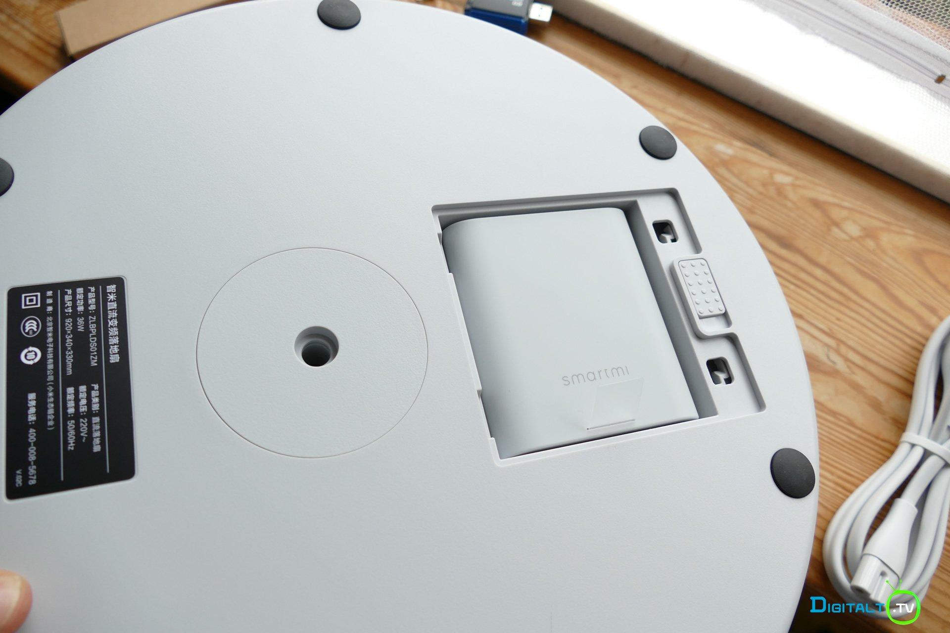 Xiaomi Smartmi Fan 2S batteri