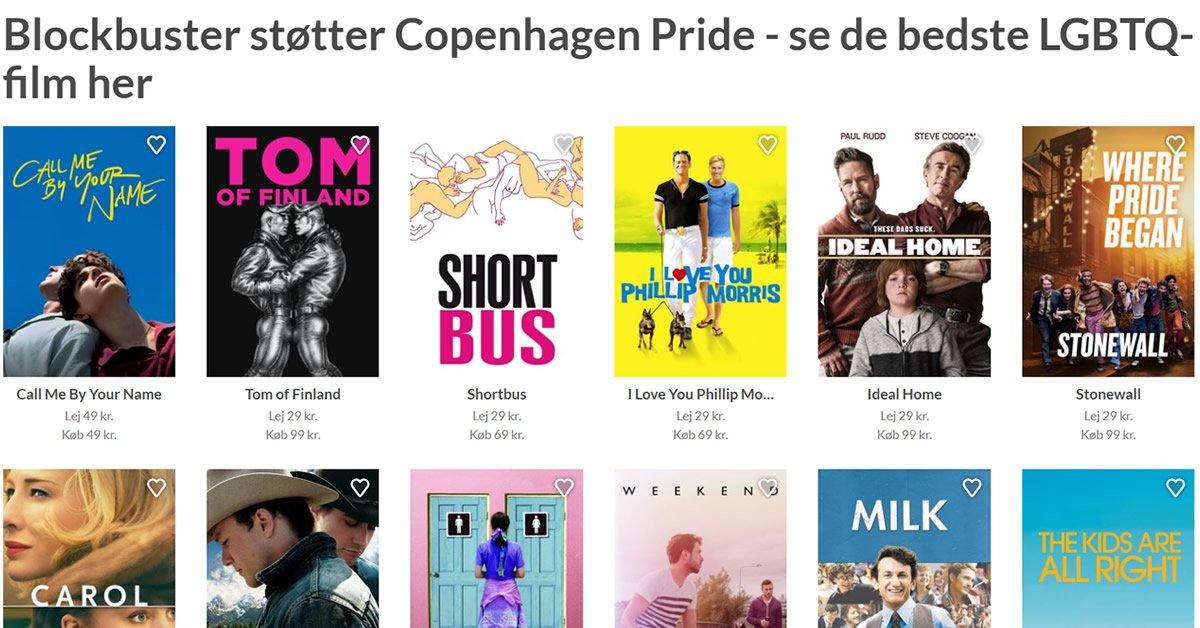 Blockbuster Pride film