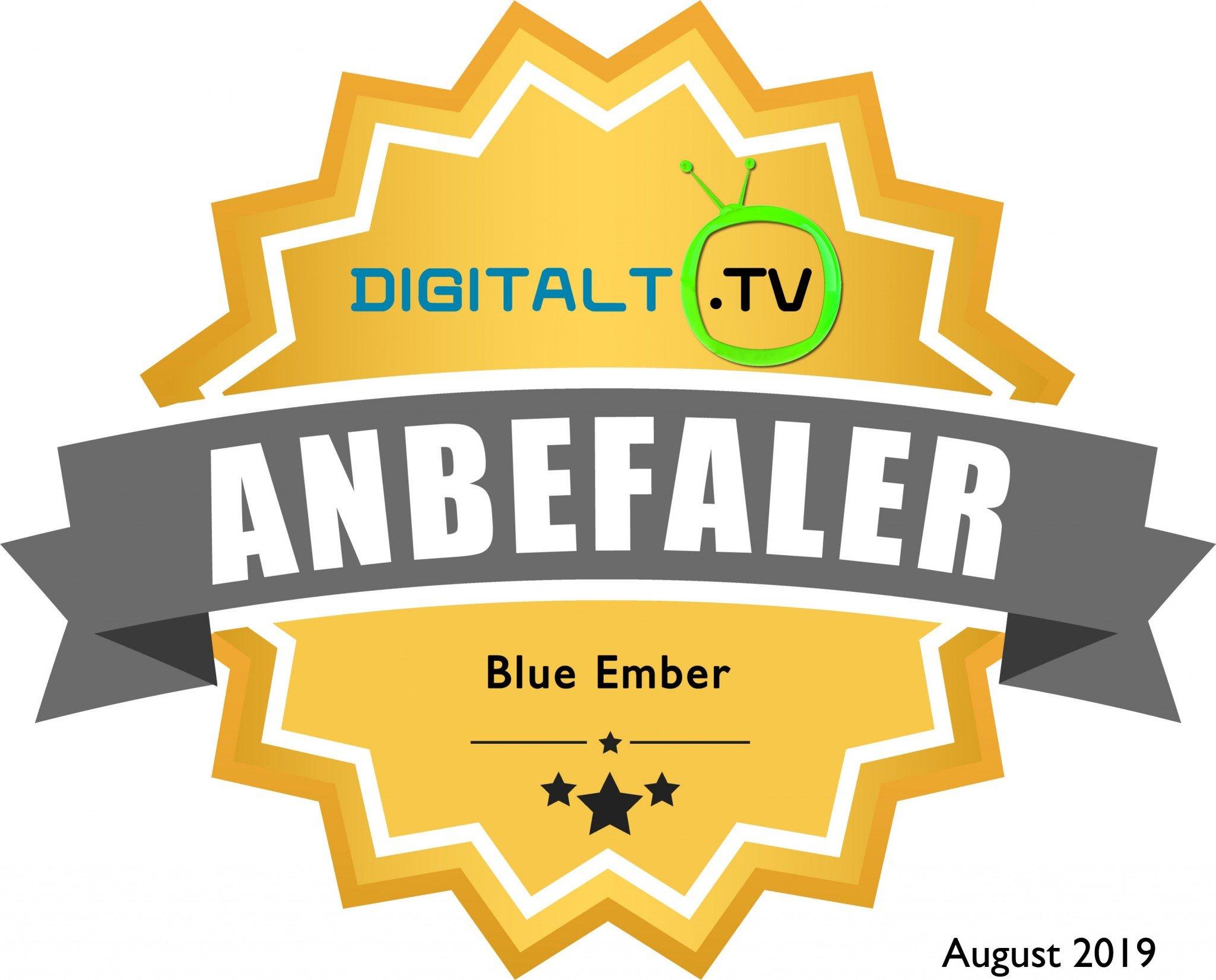 Blue Ember Logo anbefaling