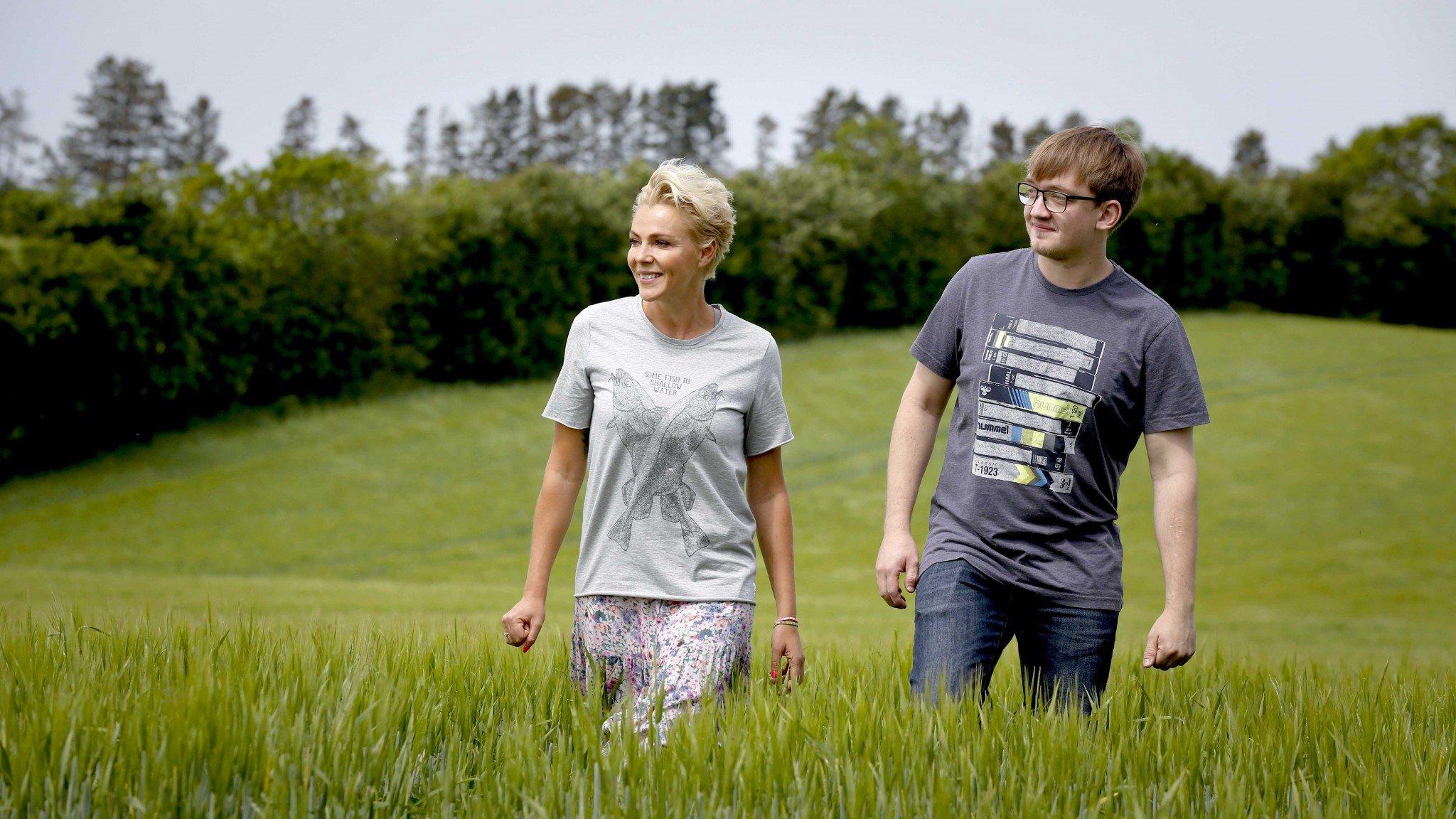 Landmand Martin og Lene Beier