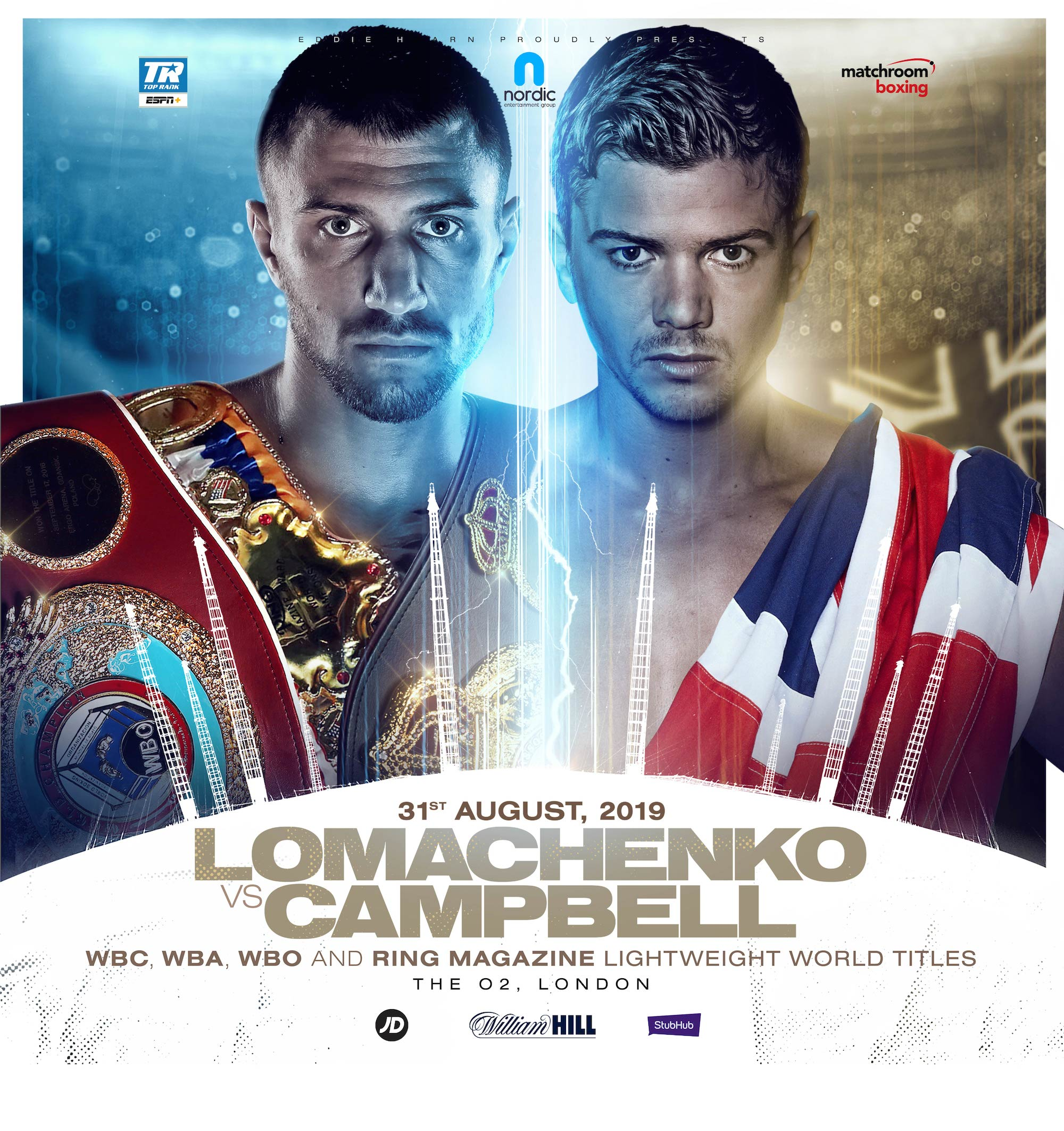 Lomachenko-Campbell boksning