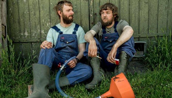 Minkavlerne Kasper og Jonas