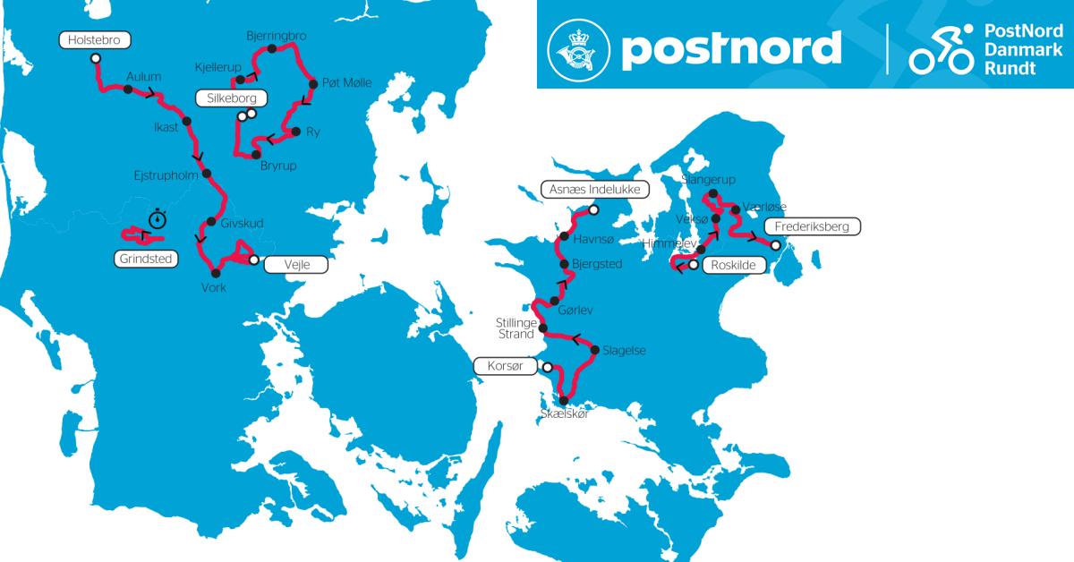 PostNord Danmark Rundt 2019 DR1 TV
