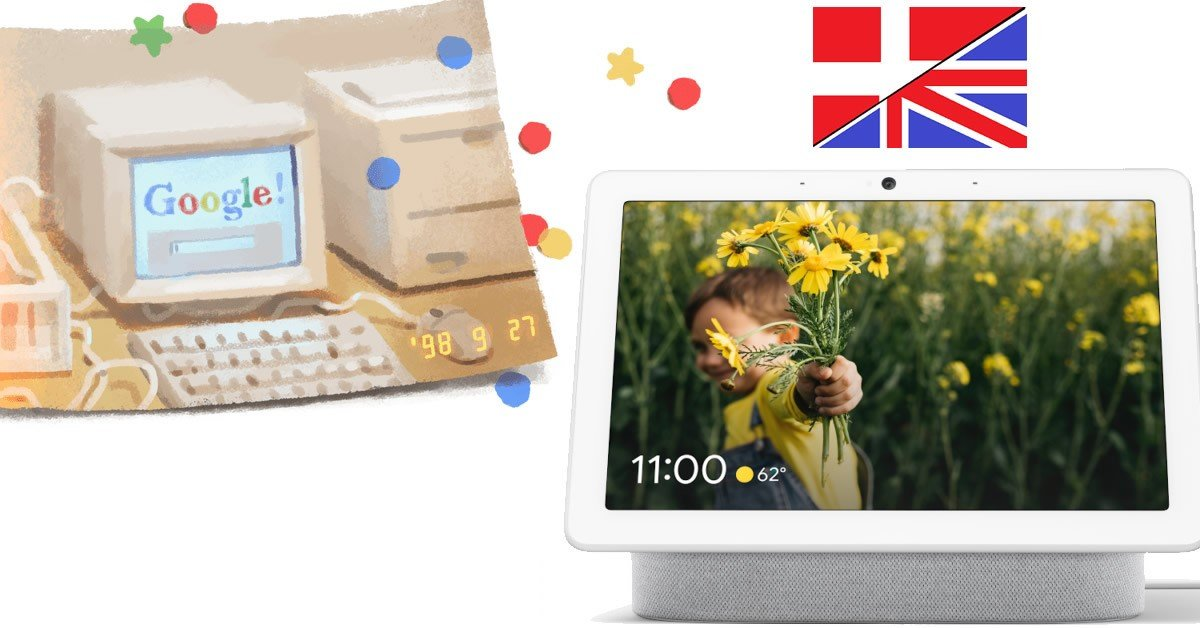 Google NEST HUB Max i Danmark