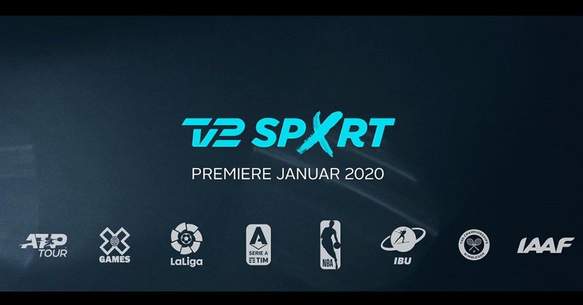 TV 2 SPORT X - ny sportskanal fra januar 2020