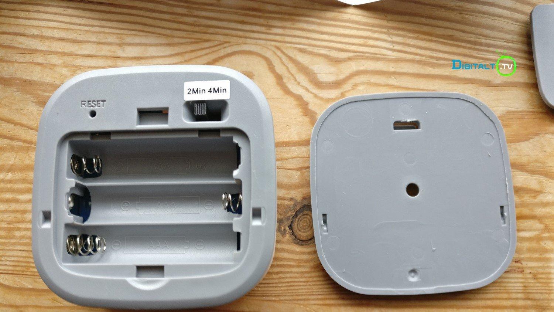 WiFi Motion Sensor Pir bagside