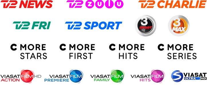 YouSee nye kanaler i de faste tv-pakker