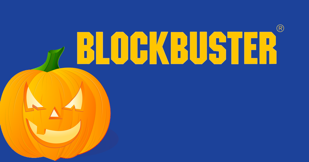Blockbuster halloween