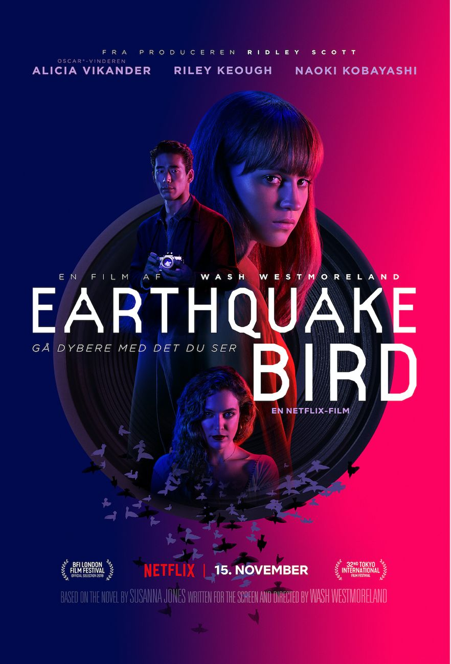 Earthquake Bird Netflix