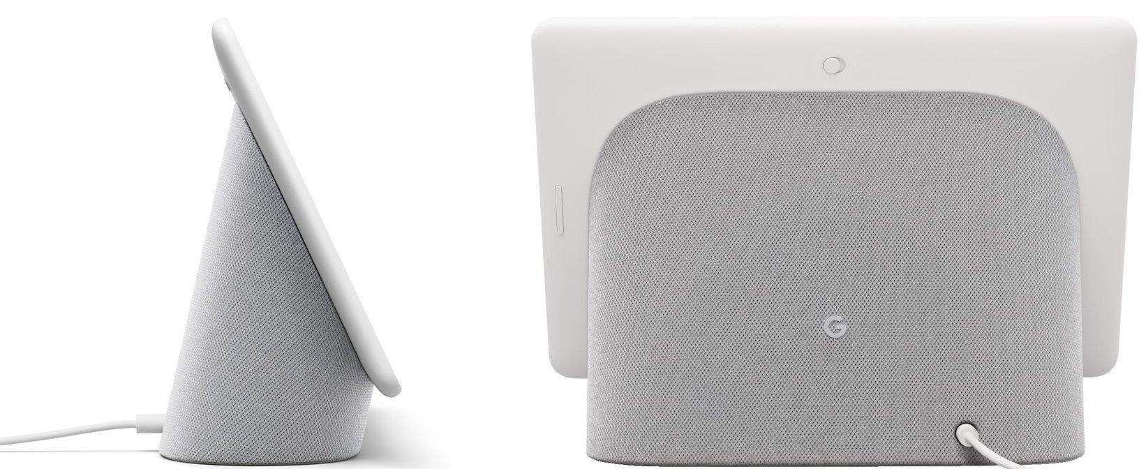 Google Nest Hub Max design side bag