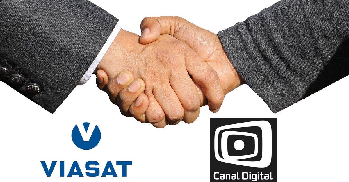 Viasat Canal Digital fusion